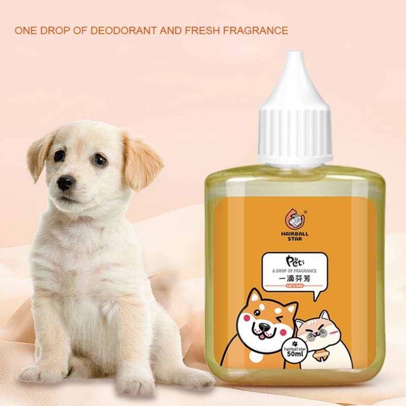 50ml Pet Deodorant Drops Deodorant Perfume For Dogs Cats Removing Odor Cat Litter Freshing Air Pet Perfume Pet Supplies