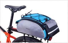 Bike Carrier Bag ROSWHEEL Bicycle Seat Tail Bags 13L Basket Back Shelf Pouch Cycling Luggage Shoulder Handbag