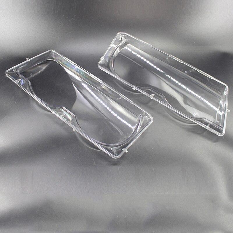 Для BMW 7 серии E38 1999-2001 Крышка для автомобильных фар маска на фару стеклянная крышка для фар украшение для автомобильной фары