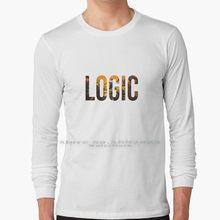 Logika bez ciśnienia grafika Logo koszulka z długim rękawem 100% czystej bawełny duży rozmiar logika bez ciśnienia dyskografia okładka albumu Rap