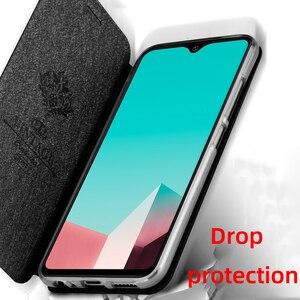 Image 4 - Etui à rabat pour xiaomi redmi note 8 t étui redmi 8 t housse cuir Redmi Note 8 T housse dorigine support arrière coque silicone business