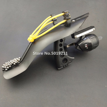 High Velocity Hunting Fishing Slingshot Shooting Catapult Arrow Bow Sling Shot Strong slingshot fishing Compound bow Catch Fish
