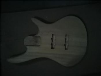 Afanti muzyka DIY gitara zestaw DIY gitara elektryczna ciała (MW-3-581) tanie i dobre opinie none not sure Nauka w domu Do profesjonalnych wykonań Beginner Unisex CN (pochodzenie) Drewno z Brazylii Electric guitar