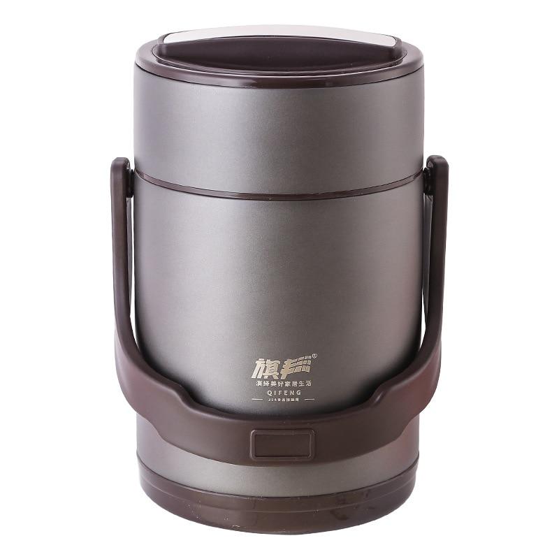 Термоусадочный контейнер для еды из нержавеющей стали 304, термос для супа с вакуумной изоляцией - 5