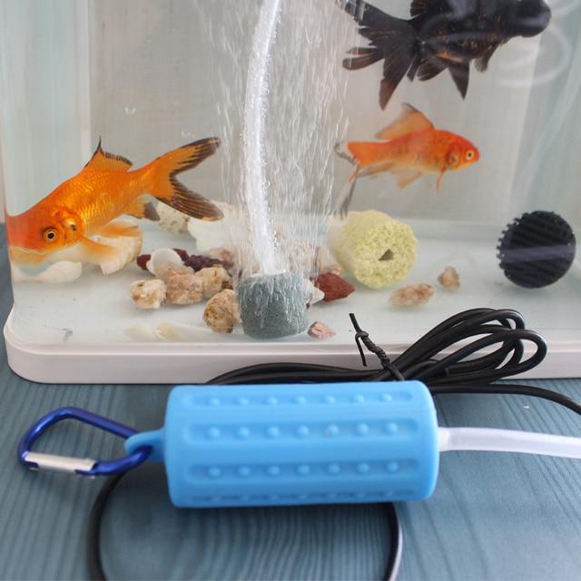 Mini USB Aquarium Fish Tank Oxygen Air Pump Quiet Energy Saving Supplies Aquatic Terrarium Fish Tank Accessories 2