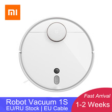 [In Stock]2019 XIAOMI Mi Robot Vacuum Cleaner 1S for Home Automatic Sweep Planned Cleaning App Control LDS&Camera Navigation