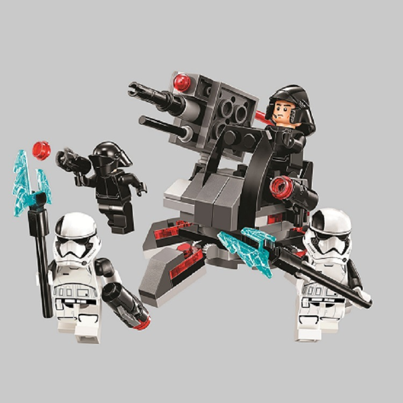 Star Wars Spaceship Microfighters Bricks First Order Specialists Fighter Building Blocks Toys Compatible With Lepining