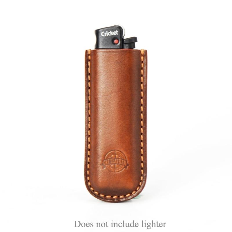 One Leather Cricket Lighter Holster Vegetable-tanned Leather (not Including Lighter)