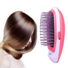 Новая модная комбинированная ионная Волшебная щётка для волос Антистатическая расческа чистое оригинальное качество Простота в использовании принадлежности для ухода за кожей головы