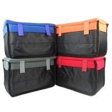 Водонепроницаемая ударопрочная сумка для камеры, чехол с подкладкой для переноски SLR, перегородка для объектива камеры SLR, Canon, Nikon, Sony