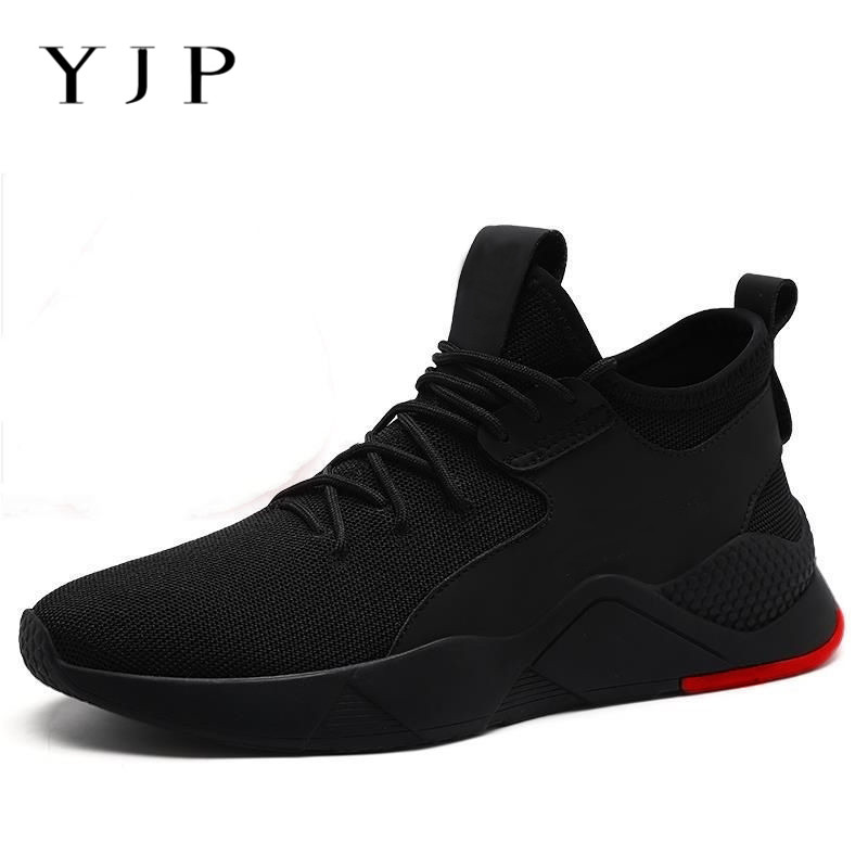 YJP Men Shoes Sneakers Comfortable Outdoor Male Big-Size Mesh Flat