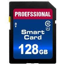Карта памяти SD, класс 10, 8 ГБ, 16 ГБ, 32 ГБ, 64 ГБ, 128 ГБ