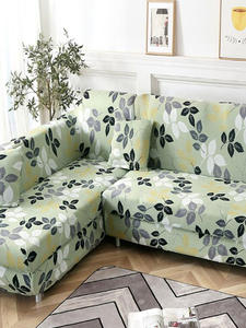 Sofa-Cover Chaise Corner Elastic L-Shaped Sectional New for Longue Stretch