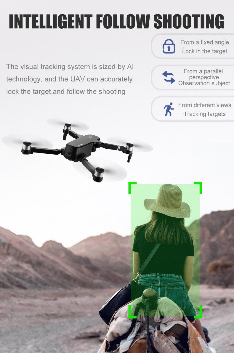 Drone 4k W8811 Pro Camera 6k Full HD 2Km Gimbal 2Eixos 30Min Wifi 5G Gps Cartao 32G sg906 pro 2