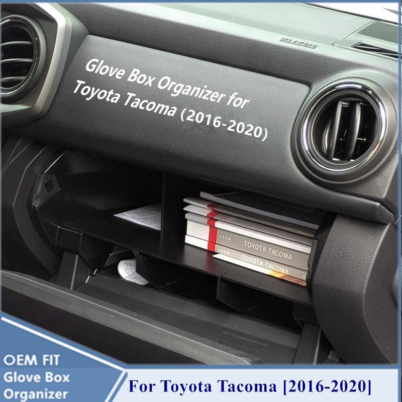 Car Center Console Armrest Storage Box Tray For Toyota Tacoma 2016-2018