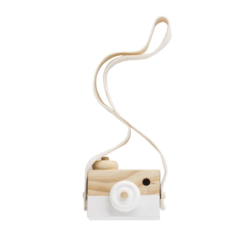 Nordic Hanging Wooden Camera Toy Children'S Toys Gifts Room Decoration Supplies Wooden Toys Children'S Products
