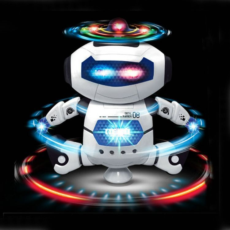 Smart Rotating Wind Dancer Who GIRL'S And BOY'S CHILDREN'S Electric Toys Gift Space Dancing Robot