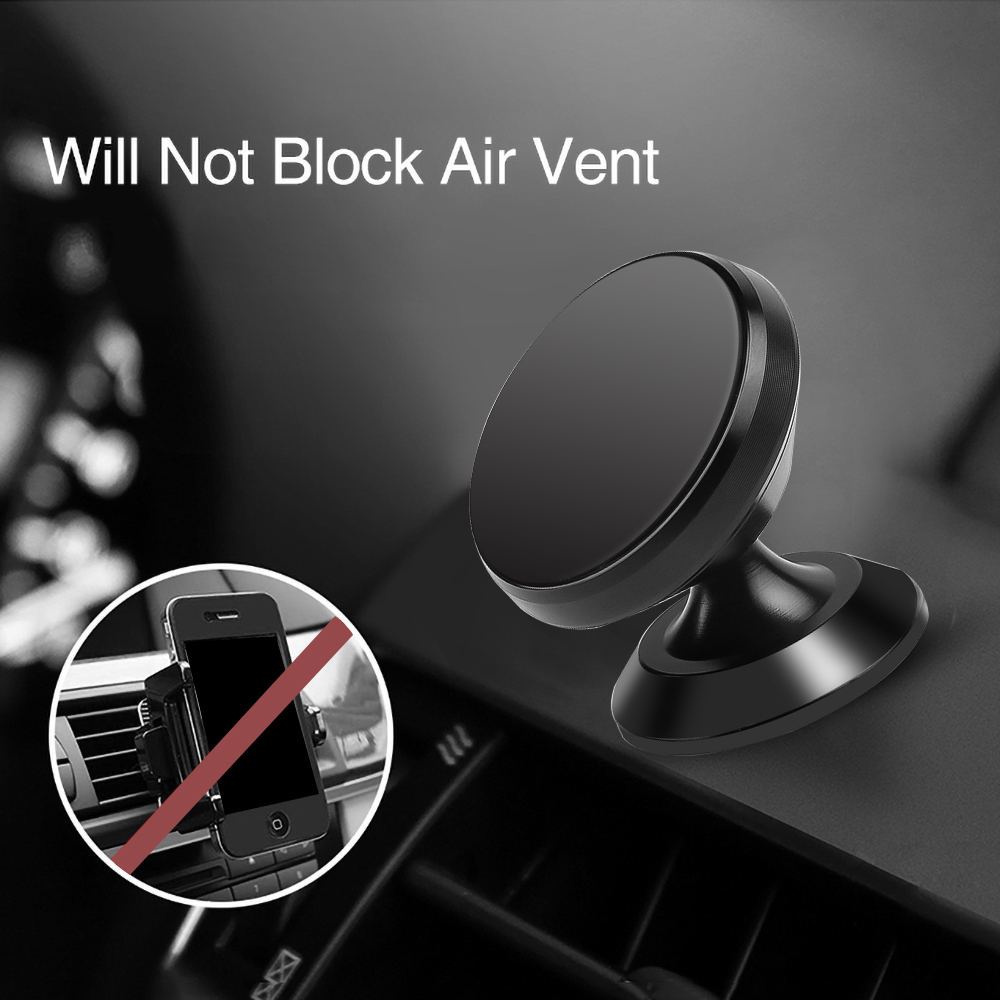 Universal Magnetic Car Phone Holder Mobile Cell Air Vent Mount Magnet GPS Stand For iPhone 11 Pro Xs Max Xiaomi Huawei