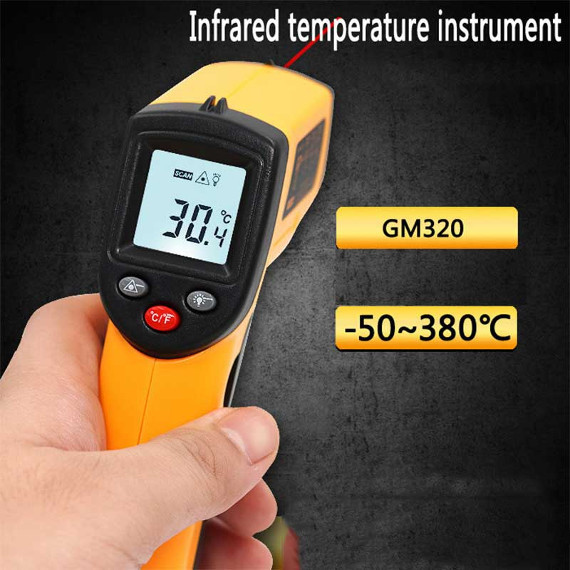 Non-Contact GM320 LCD IR Laser Infrared Digital Temperature Thermometer Gun US