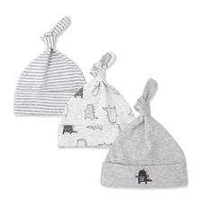 Czapki dla dzieci 100 bawełna Cartoon Hat Cartoon drukowane czapki zimowe dla dzieci jesień zima dzieci czapki czapki niemowlę prezent 3 sztuk partia tanie tanio COTTON Regulowany Unisex 4-6 miesięcy 0-3 miesięcy baby hat