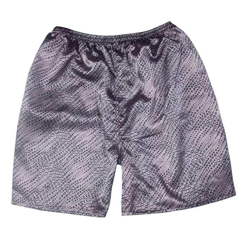 מכנסי פיג'מה של טוני וקנדיס גברים קצרים בקיץ גברים נעימים ונעימים מכנסי שינה גודל אחד מכנסי שינה 8 הדפסים מכנסי חוף