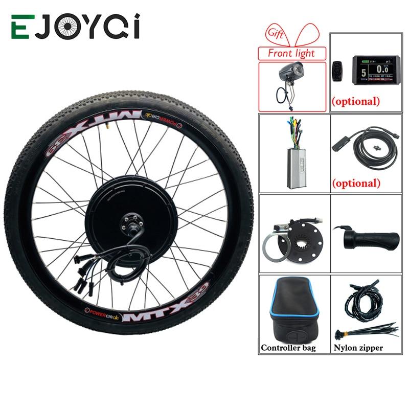 eBike Conversion Kit 48V 1500W 1000W KT lcd8h Controller e-bike Hub Motor Wheel Electric Bike Bicycle Conversion Kit For Bicycle