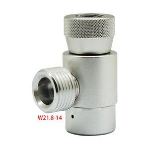 Image 5 - 3 가지 유형 소다 스트림 자작 나무 키트 CGA320 또는 W21.8 CO2 실린더 리필 어댑터 커넥터