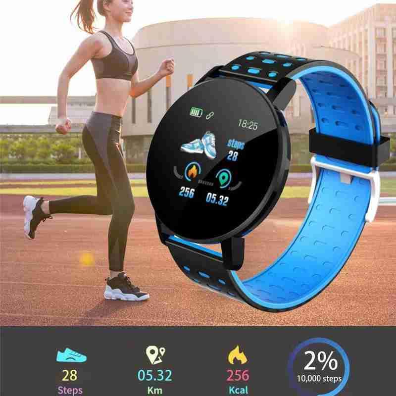 cheapest 119Plus Smart Wristband Heart Rate Monitor Sport Tracker Smart Watch Sport Smartband For Android IOS Men Women Smart Bracelet