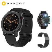 """Globalna wersja Huami Amazfit GTR 42mm smartwatch gps zegarek 12 dni żywotność baterii 5ATM wodoodporne sterowanie muzyką 1.2 """"AMOLED"""