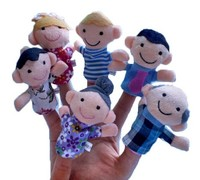 Finger Even Storytelling Good Toys Hand Puppet For Baby's Gift toys for girls puppet tracks Stress Toy Funny Kids YH1907