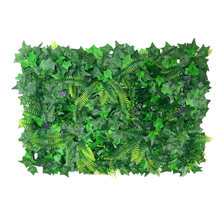 Artificial plastic green grassland yard garden turf plant golf