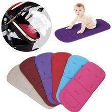 Универсальный для малышей и детей постарше мягкие коляски коляска автокресло лайнер коврик, подкладка без шнурков Дышащие Регулируемые Детские подушки сиденья