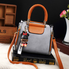 Brand Medium Large Capacity Ladies Totes Zipper Bear Strap Thread Shopping Office Women Crossbody Shoulder Bag Handbags