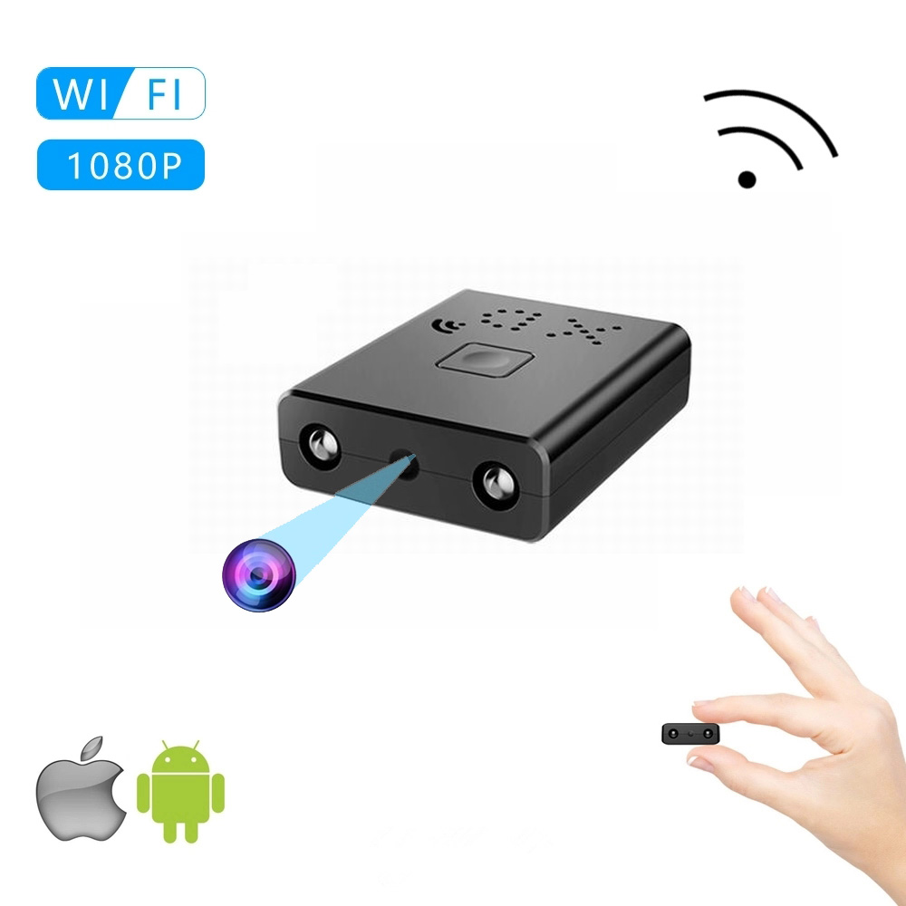 HD 1080P Mini Camcorder Wifi Mini Micro Camera Sport Pen Camera Voice Video Recorder Infrared Night Vision Motion Detection Sq11