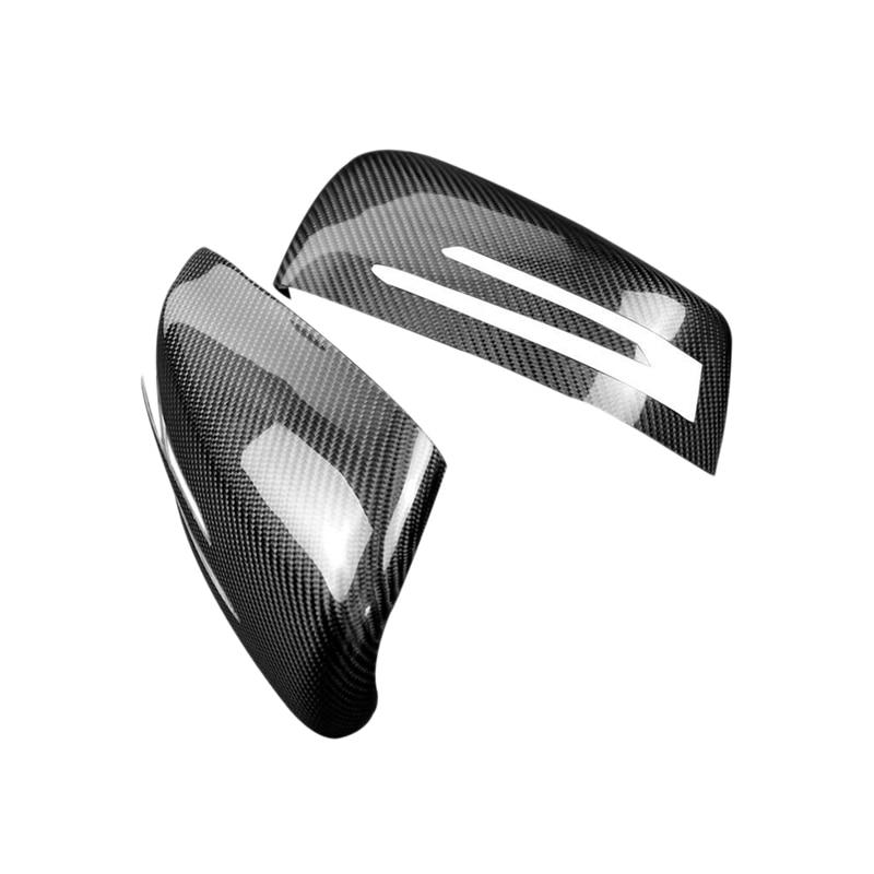2Dr Car Carbon Fiber Door Handle Cover For Benz A B C E W204 W176 W246 W218 W212