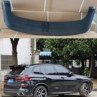 For BMW X5 spoiler G05 spoiler 2016 2019 rear wing spoiler Paste Installation ABS Material Rear Roof Trunk Spoiler Primer Color