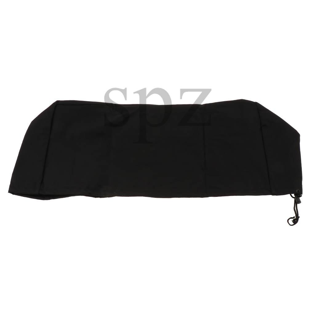 Black Soft Cover Driver Waterproof Winch Dust Recovery Oxford Textile Bag
