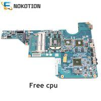 NOKOTION 597673 001 610160 001 610161 001 PARA HP Pavilion G62 CQ62 Laptop Mãe Soquete S1 HD5430M DDR3 GPU cpu livre|Placa-mãe para notebook|Computador e Escritório -