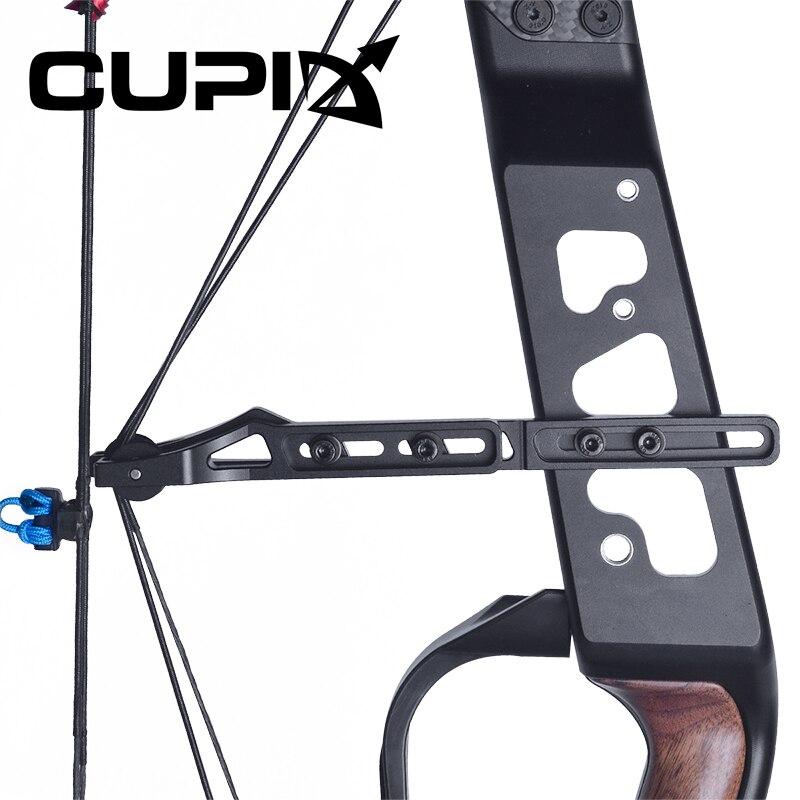 Arco compuesto 21,5-80 Lbs peso de tiro 26-30 pulgadas longitud de tiro 330/460 fps tiro con arco/juego bola de acero de doble uso para disparar - 2