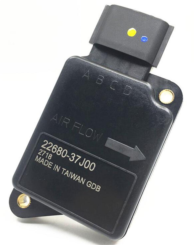 1tk Taiwani kvaliteetsed MAF-andurid 22680-37J00 AFH70-05 Nissan Y60 TB42E 4.2L automaatse õhuvoolu mõõtjad