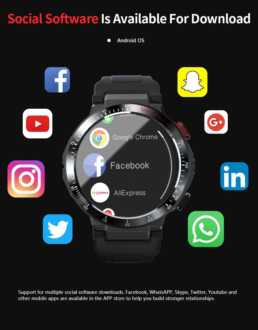 Z28 4g netcom completa relógio inteligente 1.6