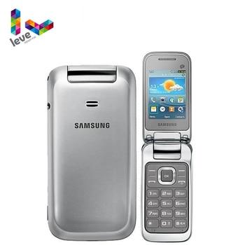 Original Unlocked GT-C3595 Samsung C3590 Flip Mobile Phone 2.4