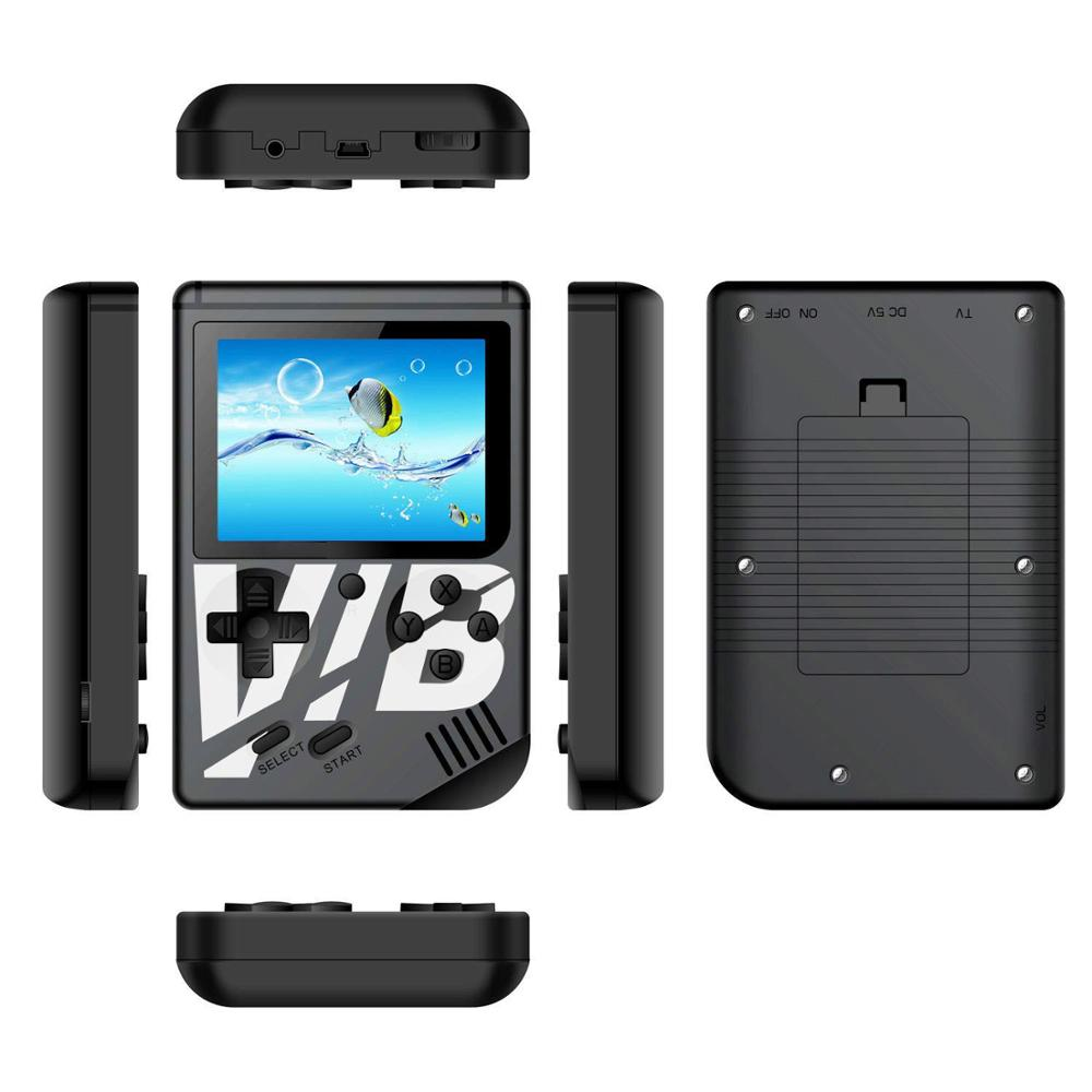 VIB handheld Video game player Vibrating handheld game console built in 169 games AV TV output