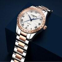 Switzerland Carnival Women Watches 2020 New Automatic Mechanical Watch Women Luxury Brand Ladies Zircon Bracelet Wristwatches