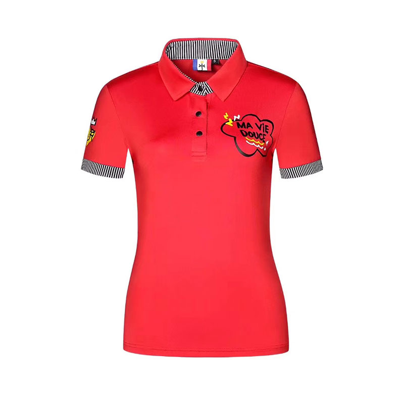 2020 New Golf Apparel Women's Summer Golf T-shirt Quick-drying Breathable Golf T-shirt Three Colors Optional Free Shipping