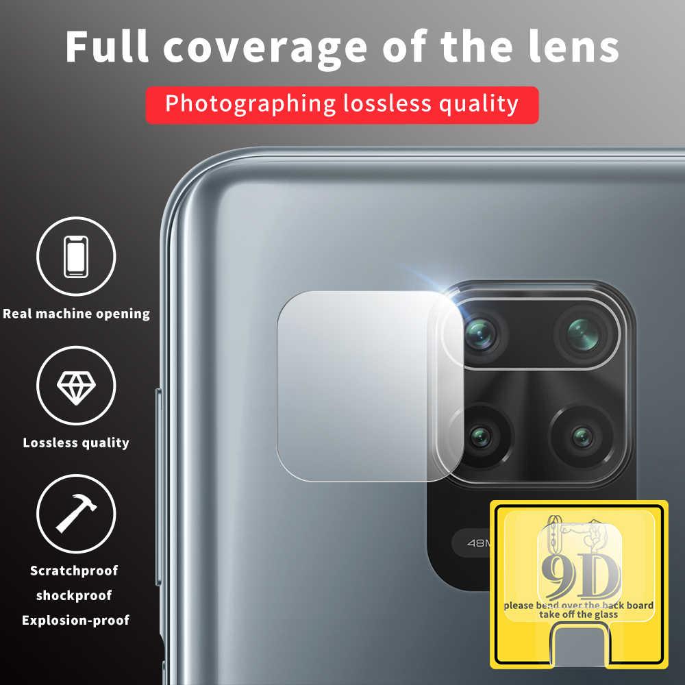 2PCS 9D di Protezione Della Macchina Fotografica Len di Vetro Temperato Per Xiaomi Redmi Note9 Nota 9Pro Nota 9 Pro Max Note9S Morbido protezione Dello Schermo di vetro