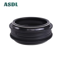 58 48x58x9/11 48X58  Motorcycle Front Fork Damper Oil Seal and Dust seal Dust Cover 48 58 9/11 (48*58*9/11) #d (3)