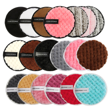 Puff-Tool Makeup-Remover-Pads Cleaning-Sponge Make-Up Microfiber 1PCS Cotton MAANGE Wipes
