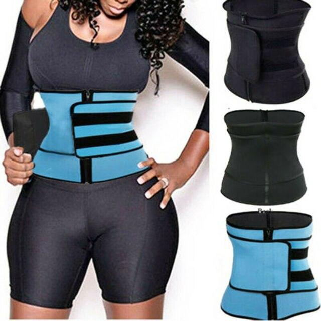 Hiriginr Fashion Tummy Waist Trainer Cincher Sweat Belt Trainer Hot Body Shaper Slim Shapewear Sweat Belt Waist Cincher Trainer 2