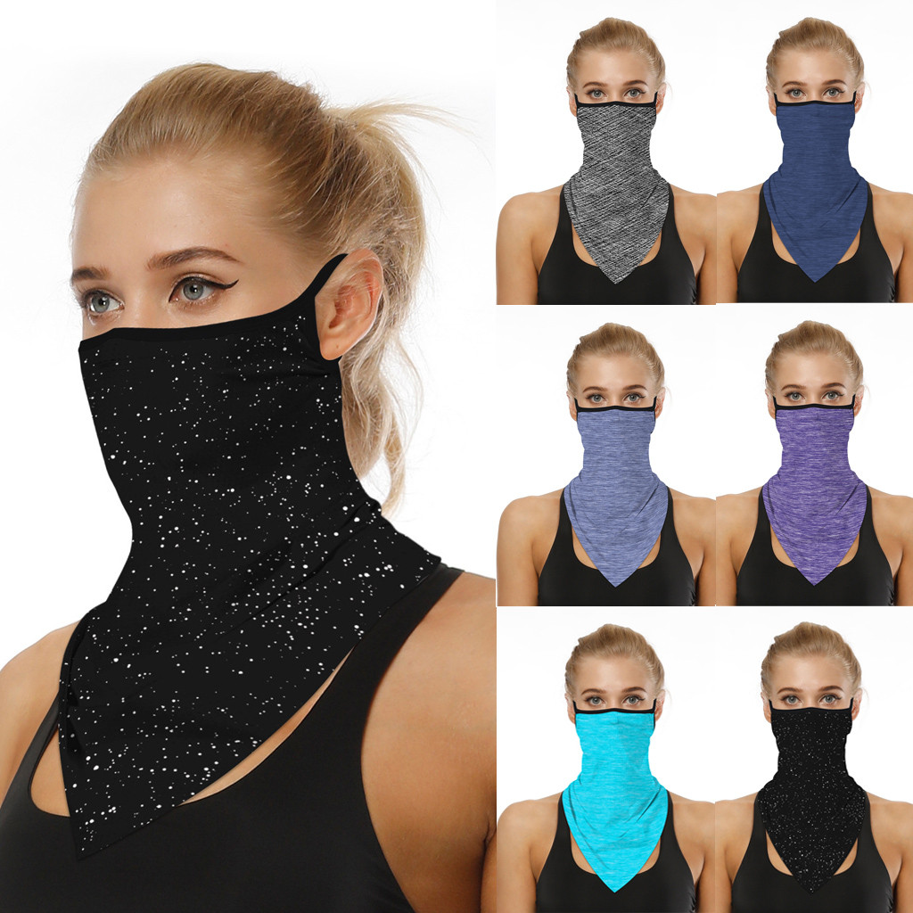 Mask Outdoor Print Seamless Ear Masks Sports Scarves Neck Tube Face Dust Riding Cycling Mask Headband Bandanas Protection Party(China)